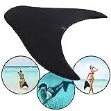 Blanketswarm Mermaid Schwimmflossen für Kinder, verstellbare Mermaid Design Schwimmen Tauchen Training Monofin Fuß Flipper Flossen (S-18x57x49cm)