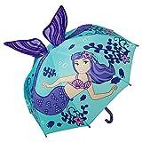 VON LILIENFELD Regenschirm Kind Kinderschirm Junge Mädchen Kids Meerjungfrau Nixe bis ca. 8 Jahre