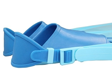 Gwood Meerjungfrau Flossen Monofin Taucherflossen für Kinderschwimmen Schwimm Flossen (Blau) - 5