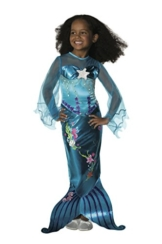 Rubie's 2 882718 M - Magical Mermaid Kostüm, Größe M, blau - 1