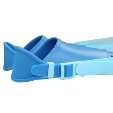 Yosoo Kinder Monoflosse Monofin Meerjungfrau Flossen Schwimmen Training (blau) - 5