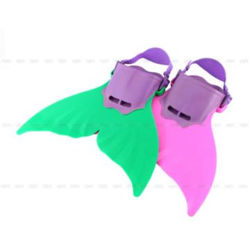 Kinder Meerjungfrau Mermaid Flosse Flossen Monoflosse Mermaid 1-8 Jahre
