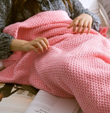 Meerjungfrau Decke, Noza Tec Handgemachte häkeln meerjungfrau flosse decke für Erwachsene, Mermaid Blanket alle Jahreszeiten Schlafsack -