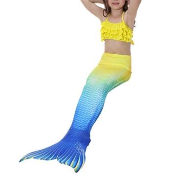 Das beste Mädchen Meerjungfrauen Bikini Kostüm Meerjungfrau Schwimmanzug Badeanzüge Tankini -