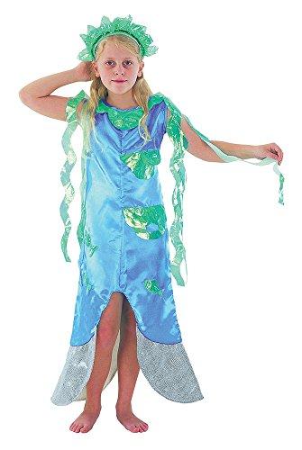 Meerjungfrau - Kinder- Kostüm - Large - 134 bis 146cm -