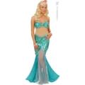 Sexy Meerjungfrau-Kostüm für Damen S –