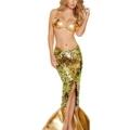 Sexy Meerjungfrau-Kostüm Halloween Mermaid Kostüm-Erwachsen-Bar Diskothek Bühnenstücke Nixekleid Maskerade (L) –