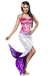 Sexy Meerjungfraukostüm Meerjungfrau Kostüm Kleid Mermaid Mermaidkostüm Damenkostüm -