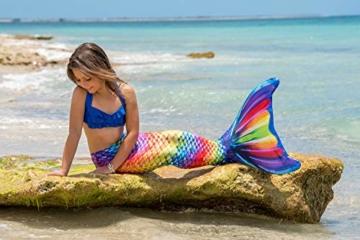 Fin Fun RTLX-RRF-08-MF Meerjungfrau Flosse Größe M / 122-134, für Kinder ab 8 Jahren, Rainbow Reef, regenbogenfarbe - 4